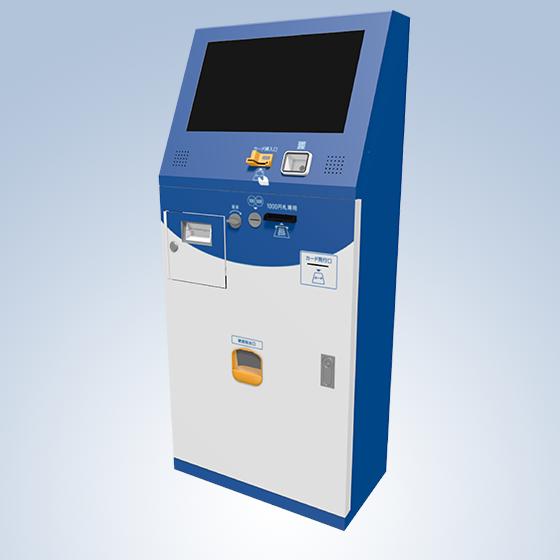 Kiosk端末、決済用途導入事例