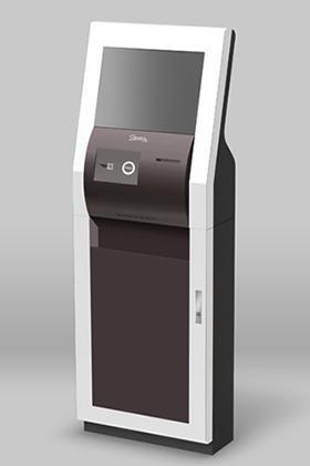 ビジュアル重視の低価格Kiosk端末モデル