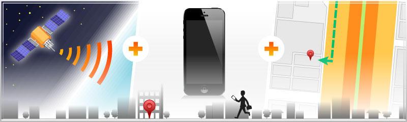 GPS位置情報やデジタル地図を活用するアプリの開発を、以前より行なっておりおります。