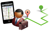 Smart Apps Job Recorder は、勤怠管理機能と動態管理機能を備えた、業務の「見える化」を実現する統合ソリューションです。