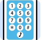 SMS送信なので必要なのは電話番号だけ!